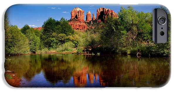 Cathedral Rock iPhone Cases - Cathedral Rock iPhone Case by Martin Massari