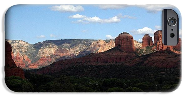 Oak Creek iPhone Cases - Cathedral Rock SEDONA iPhone Case by Jerry Bokowski