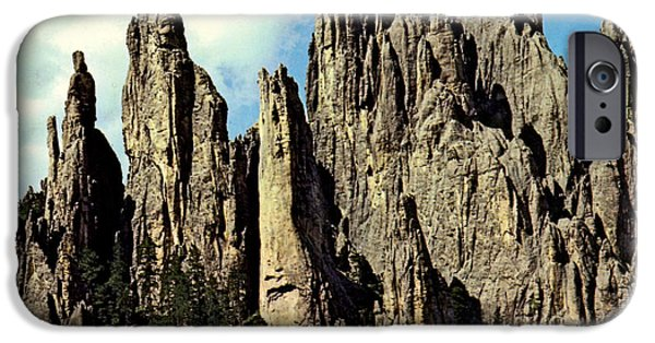 Cathedral Rock iPhone Cases - Cathedral Spires iPhone Case by Ruth  Housley