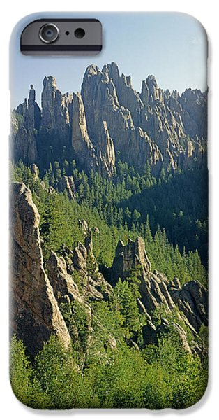 Cathedral Rock iPhone Cases - Cathedral Spires SD 215718 iPhone Case by Ed  Cooper Photography