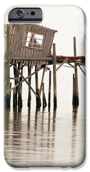 Cedar Key Structure iPhone Case by Patrick M Lynch