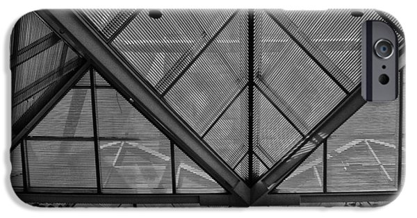 Buildings iPhone Cases - Ceiling iPhone Case by Tom Gari Gallery-Three-Photography
