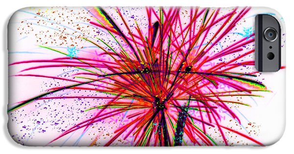 4th Of July iPhone Cases - Celebrate iPhone Case by Kathy Franklin