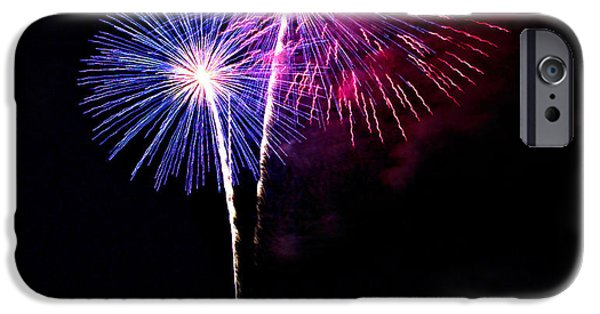 4th July Photographs iPhone Cases - Celebrations iPhone Case by Christopher Duncan