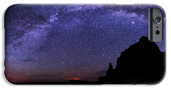 Capitol iPhone Cases - Celestial Arch iPhone Case by Chad Dutson