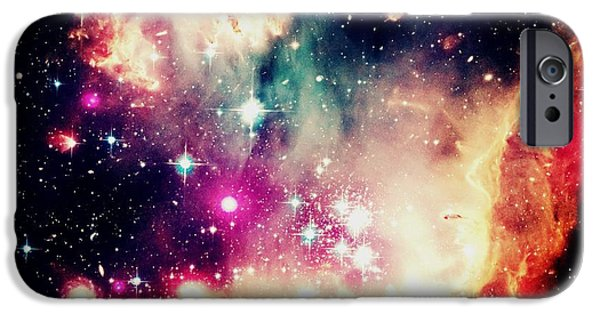 Constellations iPhone Cases - Celestial iPhone Case by Johari Smith