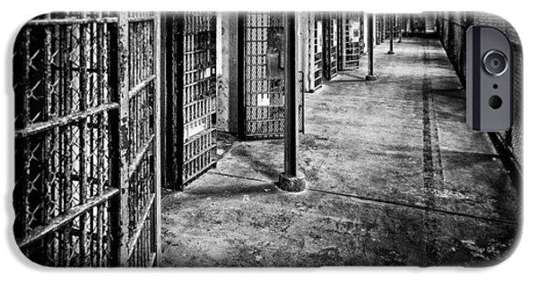 Reform iPhone Cases - Cellblock No. 9 iPhone Case by Tom Mc Nemar