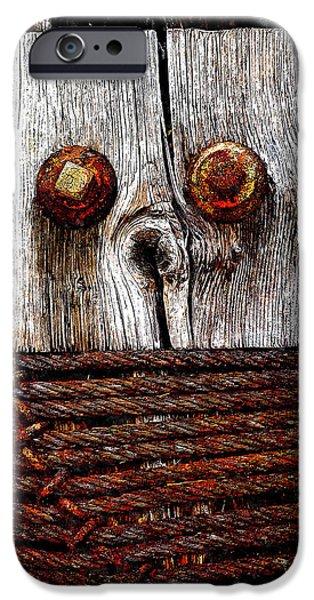 Censorship iPhone Cases - Censorship 2 iPhone Case by Rick Mosher