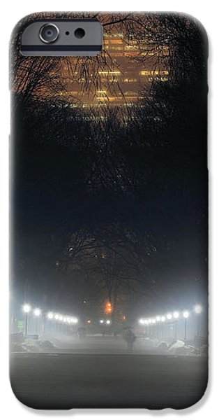 Central Park Shadows iPhone Case by JC Findley