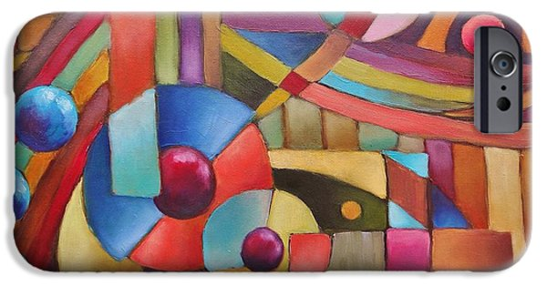 Recently Sold -  - Abstract Expressionist iPhone Cases - Cerebral Decor # 5 iPhone Case by Jason Williamson