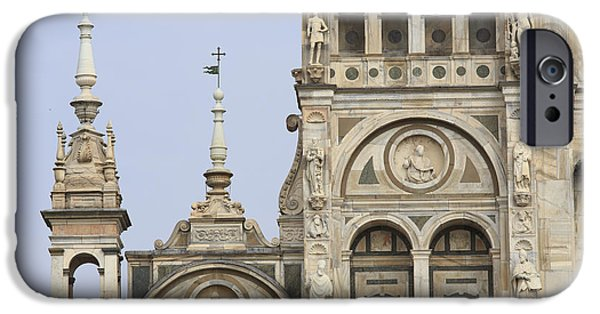 Built Structure iPhone Cases - Certosa of Pavia Italy iPhone Case by Maurizio Biso