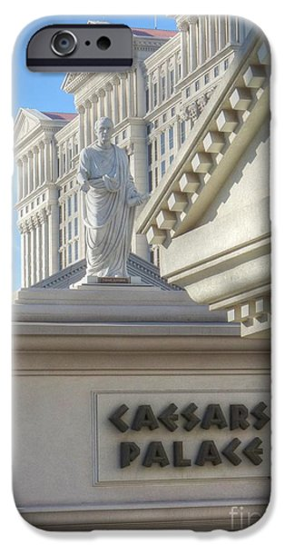Julius Caesar iPhone Cases - Chairman of the Board iPhone Case by David Bearden