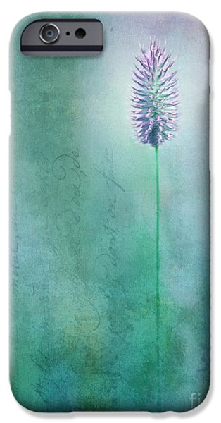 Blossom Photographs iPhone Cases - Chandelle iPhone Case by Priska Wettstein