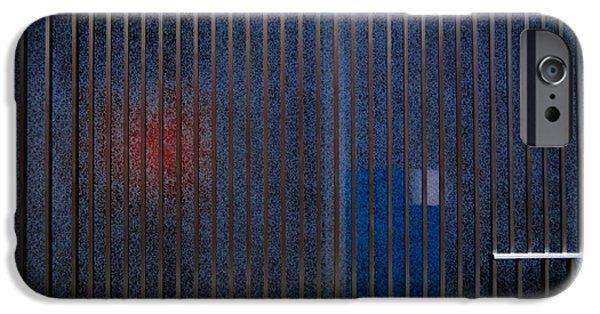 Neo-plasticism iPhone Cases - Channelling Mondrian iPhone Case by James Aiken