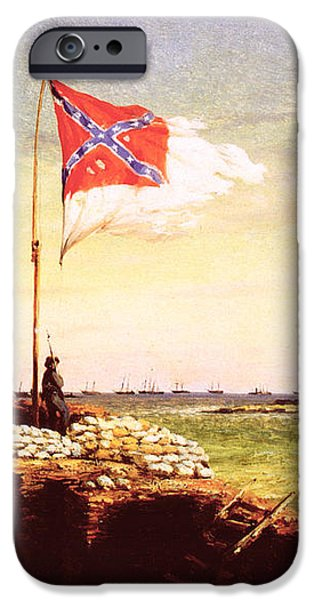 CHAPMAN: FORT SUMTER FLAG iPhone Case by Granger
