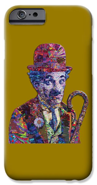 The Little Tramp iPhone Cases - Chapster 3 T iPhone Case by Douglas Christian Larsen