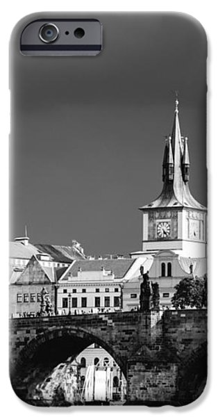 Charles Bridge Prague Czech Republic iPhone Case by Matthias Hauser