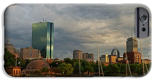 Boston Ma iPhone Cases - Charles River Boats Esplanade iPhone Case by Toby McGuire