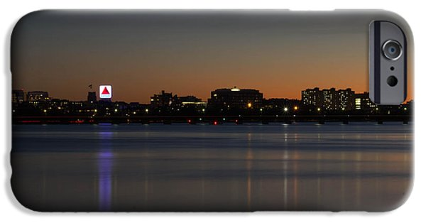 Boston Ma iPhone Cases - Charles River Sunset iPhone Case by Nick Cosky