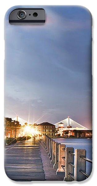 Charleston Battery Photography iPhone Case by Dustin K Ryan