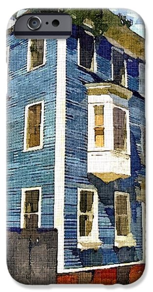 Recently Sold -  - City. Boston iPhone Cases - Charlestown blues iPhone Case by Rachel Niedermayer