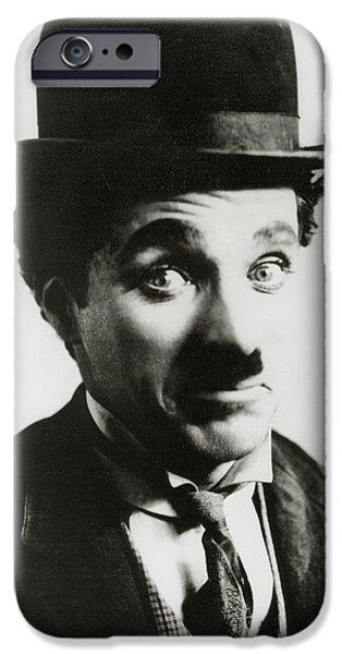 Chaplin iPhone Cases - Charlie Chaplin iPhone Case by American School