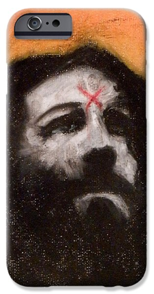 Culture Pastels iPhone Cases - Charlie Is Man iPhone Case by Sam Hane