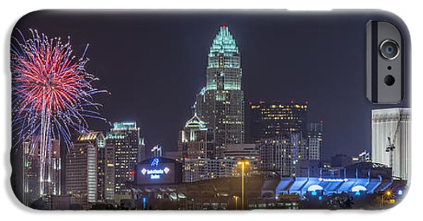 Charlotte iPhone Cases - Charlotte Celebration iPhone Case by Brian Young