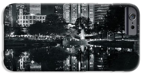 Charlotte iPhone Cases - Charlotte Black Night iPhone Case by Frozen in Time Fine Art Photography