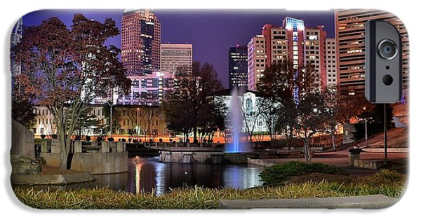 Charlotte iPhone Cases - Charlotte from the Park iPhone Case by Frozen in Time Fine Art Photography