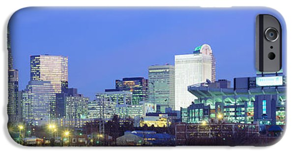 Charlotte iPhone Cases - Charlotte Nc iPhone Case by Panoramic Images