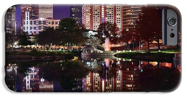 Charlotte iPhone Cases - Charlotte Reflections iPhone Case by Frozen in Time Fine Art Photography