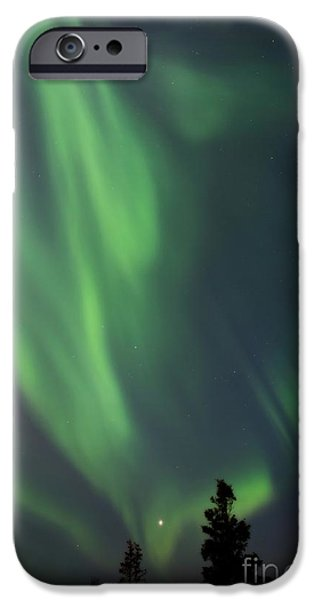 Venus iPhone Cases - chasing lights II natural iPhone Case by Priska Wettstein