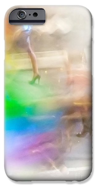 Lesbian iPhone Cases - Chasing The Rainbow iPhone Case by Az Jackson