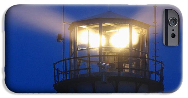 New England Lighthouse iPhone Cases - Chatham Light iPhone Case by Juergen Roth