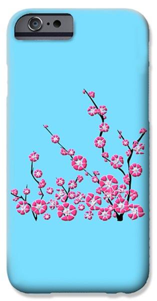 Child iPhone Cases - Cherry Blossom iPhone Case by Anastasiya Malakhova