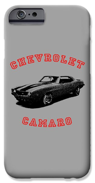Chevrolet iPhone Cases - Chevrolet Camaro Z 28 iPhone Case by Mark Rogan