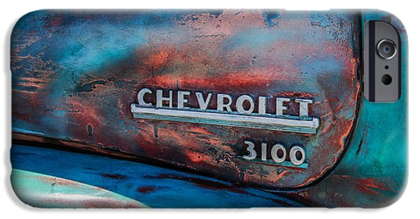 Buy iPhone Cases - Chevrolet Truck Side Emblem -0842c2 iPhone Case by Jill Reger