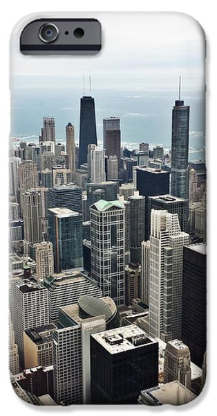 Chicago Cubs iPhone Cases - Chi-town iPhone Case by 2141 Photography