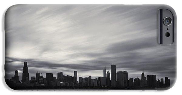 Chicago iPhone Cases - Chicago iPhone Case by Adam Romanowicz