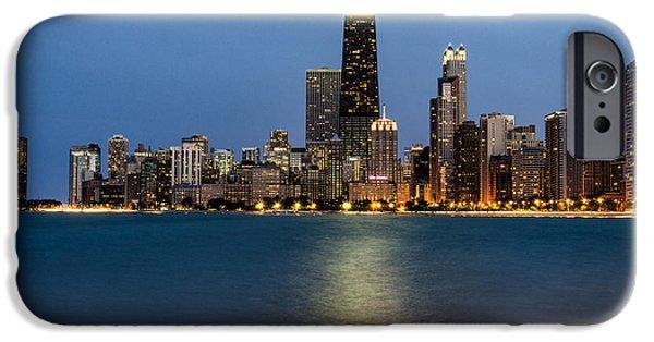 Willis Tower iPhone Cases - Chicago Beachfront iPhone Case by Matt Hammerstein