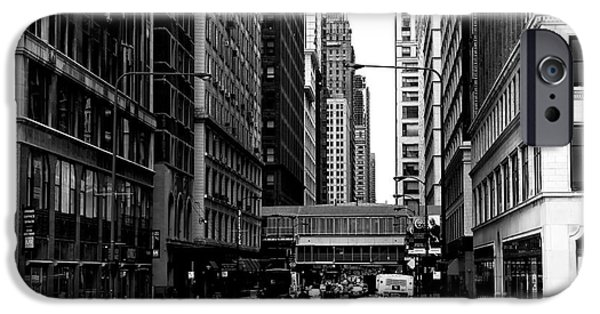 Sears Tower iPhone Cases - Chicago Crossing iPhone Case by John Rizzuto