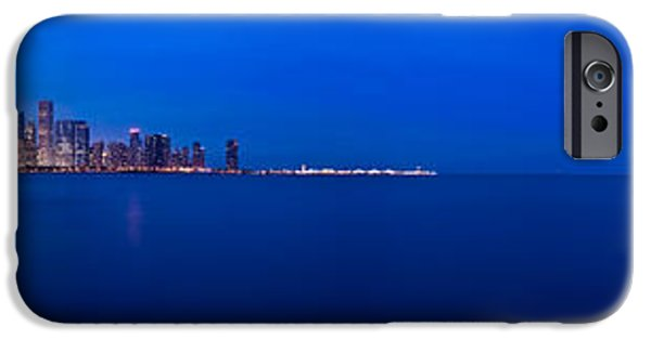 Chicago iPhone Cases - Chicago Lakefront Ultra Wide HD iPhone Case by Steve Gadomski