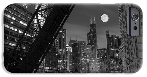 Lincoln iPhone Cases - Chicago Pride of Illinois iPhone Case by Frozen in Time Fine Art Photography