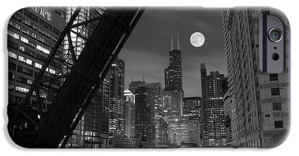 Wrigley iPhone Cases - Chicago Pride of Illinois iPhone Case by Frozen in Time Fine Art Photography