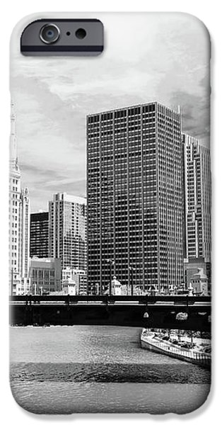 Chicago River Buildings Skyline iPhone Case by Paul Velgos