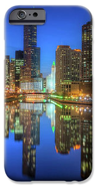 Chicago River East iPhone Case by Steve Gadomski