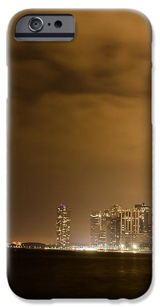 Chicago Skyline Fireworks Finale iPhone Case by Anthony Doudt