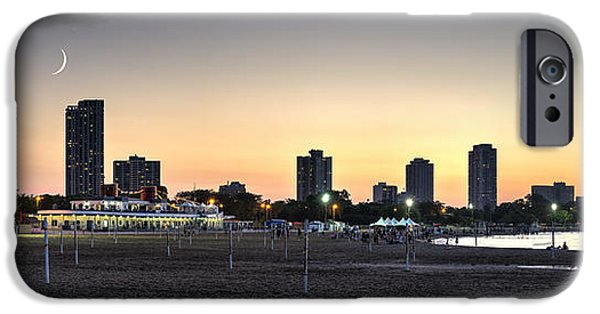Lincoln iPhone Cases - Chicagos North Avenue Beach iPhone Case by Matt Hammerstein