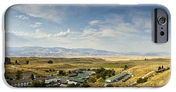 Chico iPhone Cases - Chico Hot springs Pray Montana Panoramic iPhone Case by Dustin K Ryan